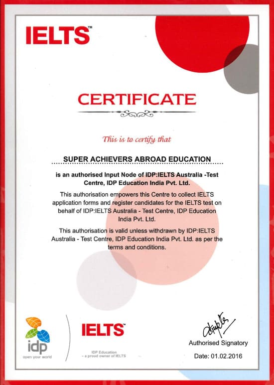 Sample Certificate Ielts Images Certificate Design And